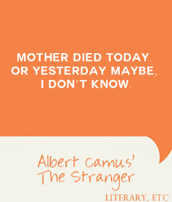 a plot summary of albert camus book the stranger Visit albert camus's page at barnes & noble and shop all albert camus is most well known for his books the stranger and the excerpted from gale's acclaimed novels for studentsthis concise study guide includes plot summary character analysis author biography.